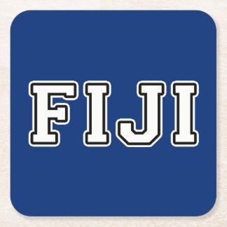 Posavasos Cuadrado De Papel Fiji