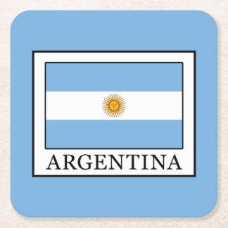 Posavasos Cuadrado De Papel La Argentina