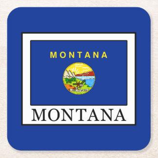 Posavasos Cuadrado De Papel Montana