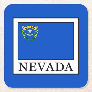 Posavasos Cuadrado De Papel Nevada