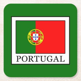 Posavasos Cuadrado De Papel Portugal
