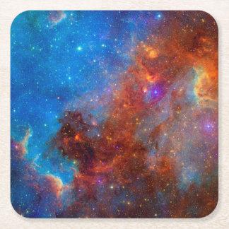 Posavasos Cuadrado De Papel Práctico de costa de la nebulosa de Norteamérica
