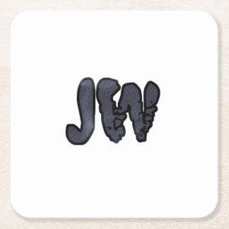 Posavasos Cuadrado De Papel Práctico de costa oficial de JW
