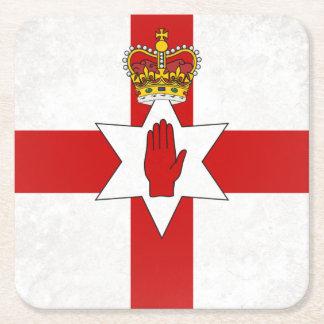 Posavasos Cuadrado De Papel Ulster