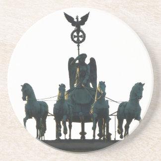 Posavasos Cuadriga de BERLÍN en la puerta de Brandeburgo