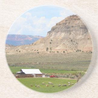 Posavasos Cultivo del país y de las colinas, Utah meridional