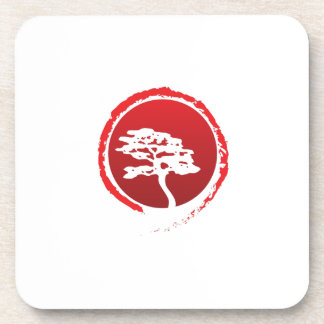 Posavasos Cultura japonesa de la tradición de Japón del
