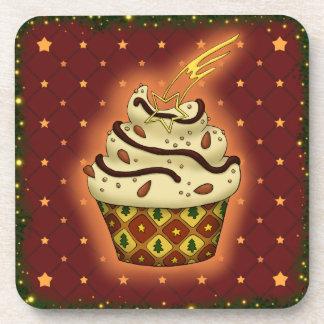 Posavasos Cupcake mono con almendras, chocolate