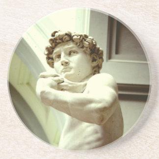 Posavasos David - la imagen eterna de Florencia