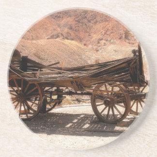 Posavasos De Arenisca 2010-06-28 old_wagon del pueblo fantasma del