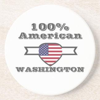 Posavasos De Arenisca Americano del 100%, Washington