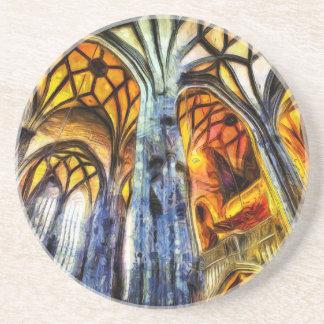 Posavasos De Arenisca Arte de Viena de la catedral del St Stephens