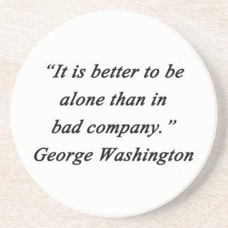 Posavasos De Arenisca Bad Company - George Washington