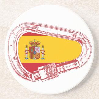 Posavasos De Arenisca Bandera del mosquetón de España