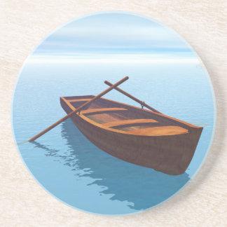 Posavasos De Arenisca Barco de madera - 3D rinden