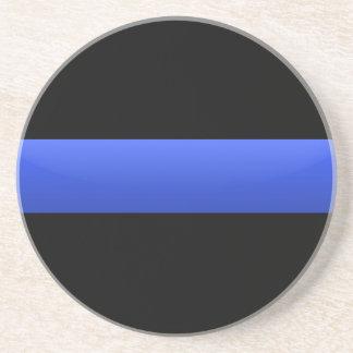 Posavasos De Arenisca Blue Line fino
