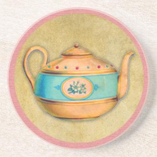 Posavasos De Arenisca Caldera de té inglesa