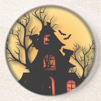 Posavasos De Arenisca Casa encantada el | Halloween