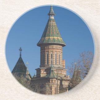 Posavasos De Arenisca Catedral de Mitropolitan, Timisoara, Rumania