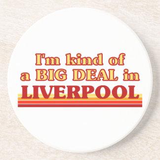 Posavasos De Arenisca Clase de I´m de una gran cosa en Liverpool