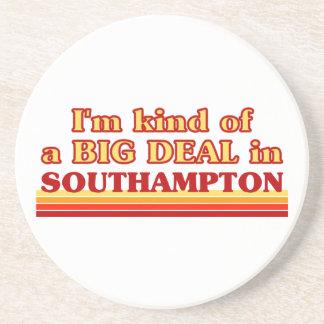 Posavasos De Arenisca Clase de I´m de una gran cosa en Southampton