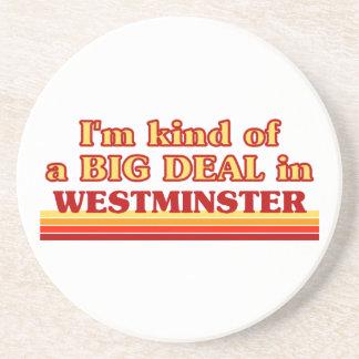 Posavasos De Arenisca Clase de I´m de una gran cosa en Westminster