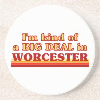 Posavasos De Arenisca Clase de I´m de una gran cosa en Worcester