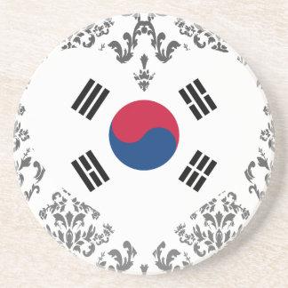 Posavasos De Arenisca Compre la bandera de la Corea del Sur
