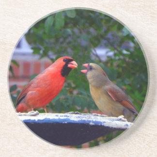 Posavasos De Arenisca Consumición cardinal de los pares