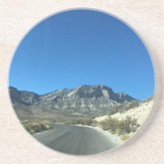 Posavasos De Arenisca Días calientes del desierto