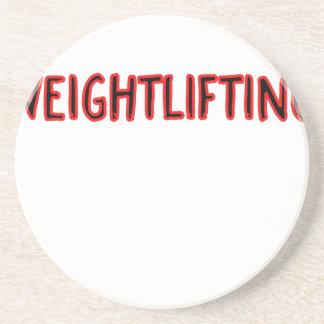 Posavasos De Arenisca Diseño del levantamiento de pesas