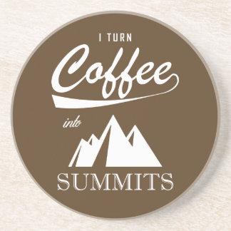 Posavasos De Arenisca Doy vuelta al café en cumbres