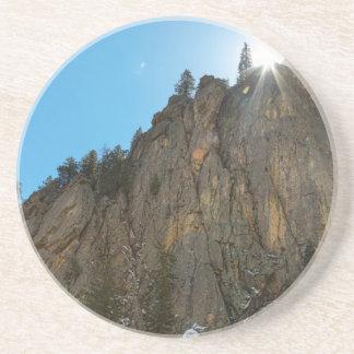 Posavasos De Arenisca El barranco de Boulder estrecha el pináculo