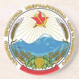 Posavasos De Arenisca Emblema de la república socialista soviética