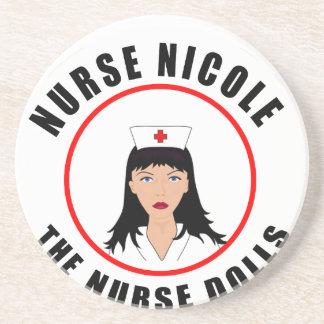 Posavasos De Arenisca Enfermera de Nicole