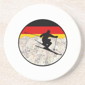 Posavasos De Arenisca Esquí Alemania