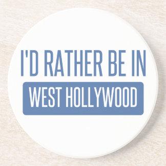 Posavasos De Arenisca Estaría bastante en Hollywood del oeste
