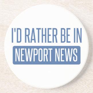 Posavasos De Arenisca Estaría bastante en las noticias de Newport