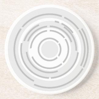 Posavasos De Arenisca Fondo abstracto circular