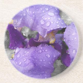 Posavasos De Arenisca gotas de agua en el iris