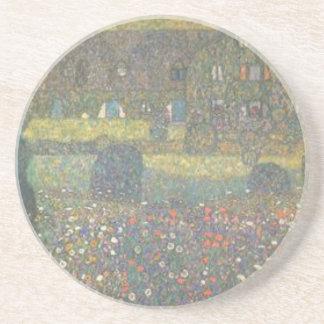 Posavasos De Arenisca Gustavo Klimt - casa de campo por el arte de