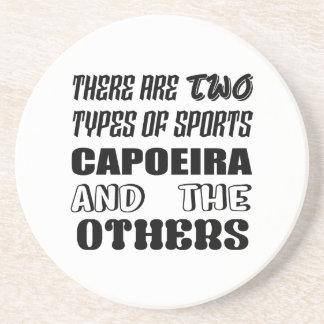 Posavasos De Arenisca Hay dos tipos de deportes Capoeira y otros