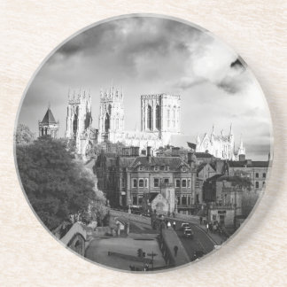 Posavasos De Arenisca Iglesia de monasterio de York en el Sun