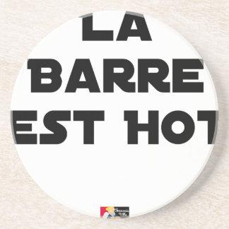 Posavasos De Arenisca La BARRA ESTE HOT - Juegos de palabras - Francois