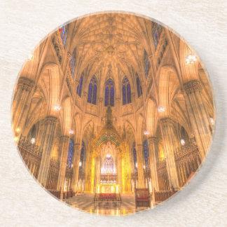 Posavasos De Arenisca La catedral Manhattan Nueva York de St Patrick