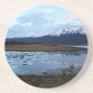 Posavasos De Arenisca Lago en el camino de Maud
