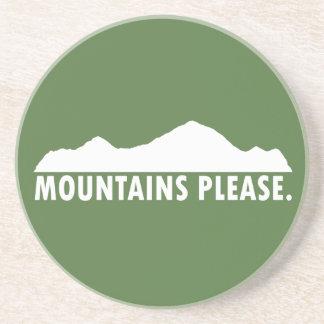 Posavasos De Arenisca Las montañas satisfacen