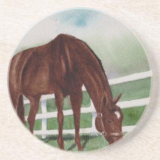 Posavasos De Arenisca Mi caballo