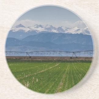 Posavasos De Arenisca Montaña rocosa que cultiva la visión