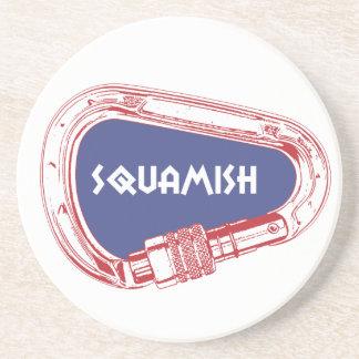 Posavasos De Arenisca Mosquetón que sube de Squamish